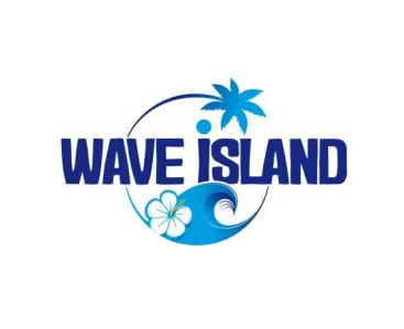 Logo Wave Island