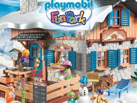 Les sports d'hiver au PLAYMOBIL Funpark !
