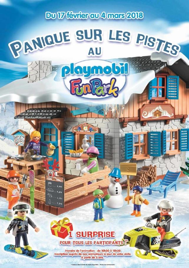 Playmobil FunPark - Panique sur les pistes