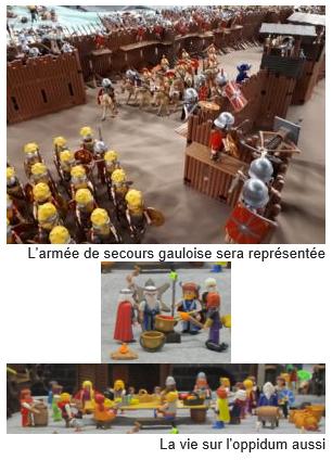 Bataille d'Alésia en Playmobil