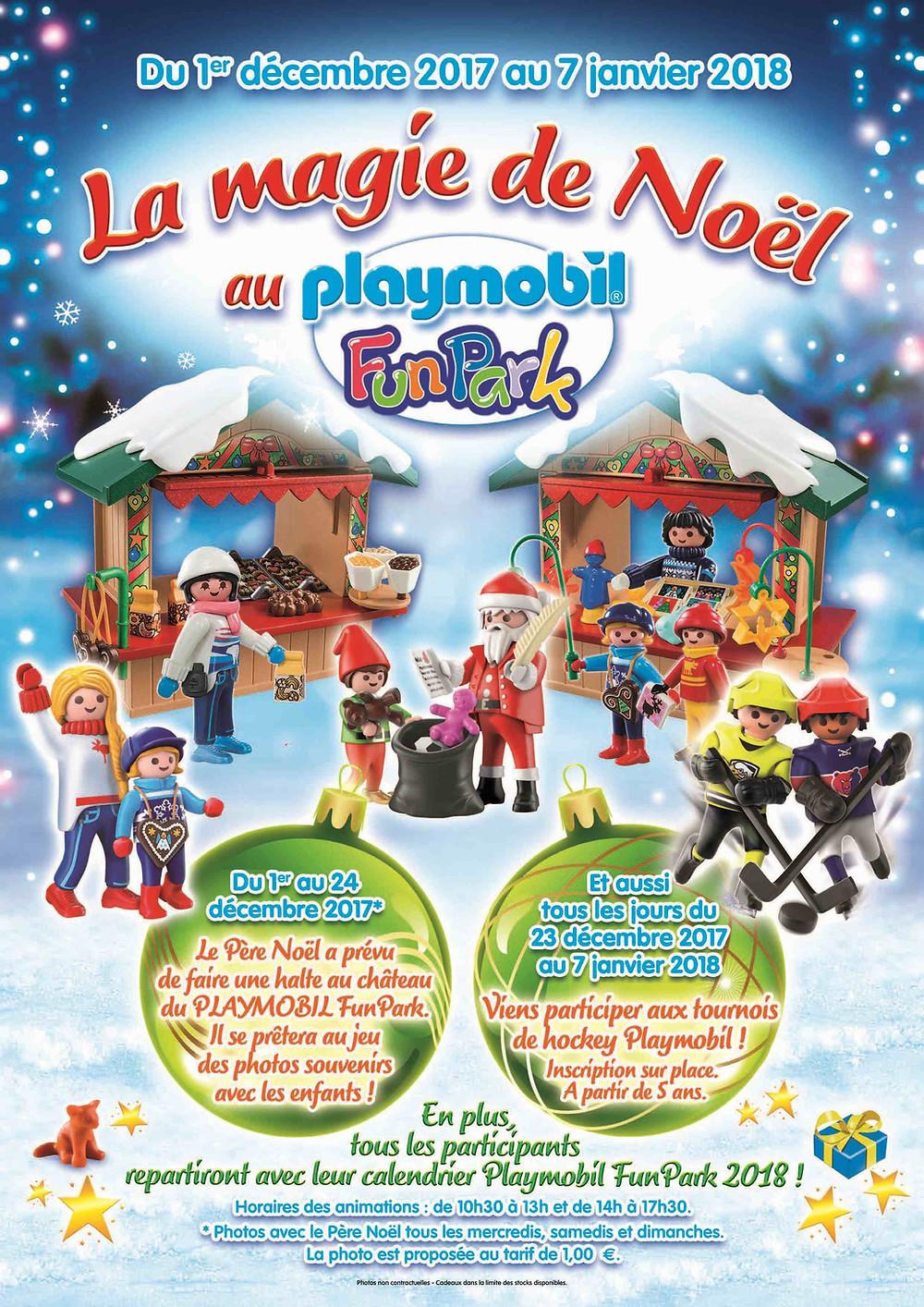 Noël au PLAYMOBIL FunPark