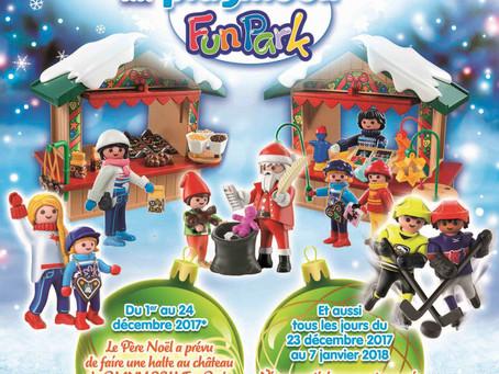La magie de Noël au PLAYMOBIL FunPark