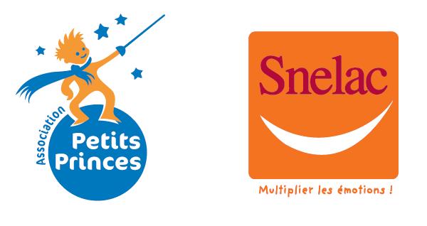 Logos Asso Petits Princes et SNELAC