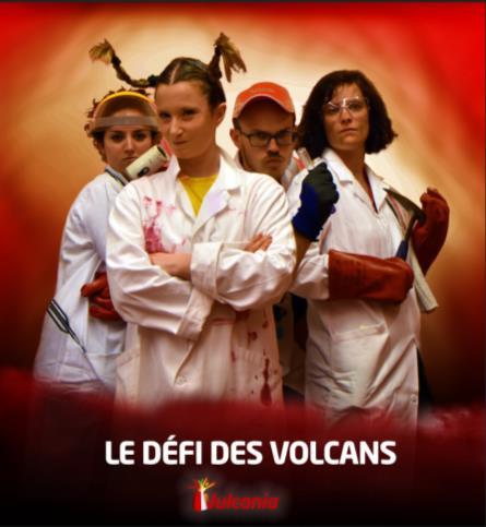 Le défi des volcans