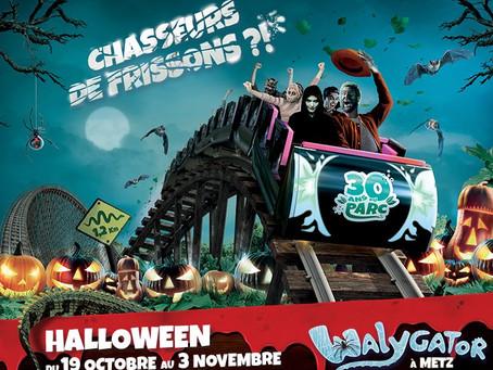 Walloween fait son grand retour au parc Walygator Grand-Est du 16 octobre au 7 novembre