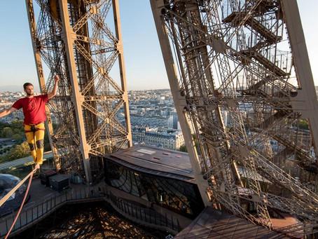Les 18 et 19 septembre 2021,La tour Eiffel et Chaillot – Théâtre national de la Danse reliés par un