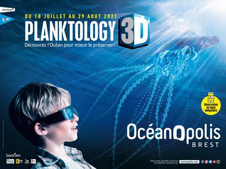 NOUVEAUTÉ : PLANKTOLOGY 3D - OCEANOPOLIS