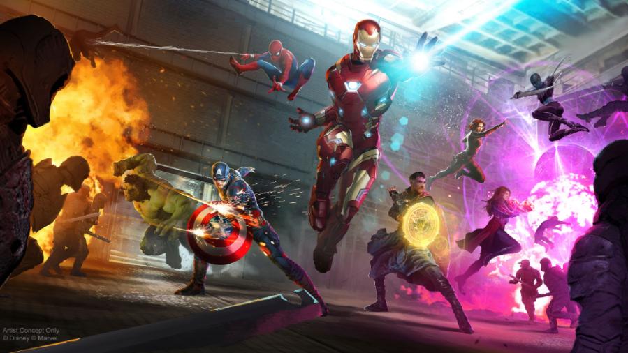 Les Avengers en action