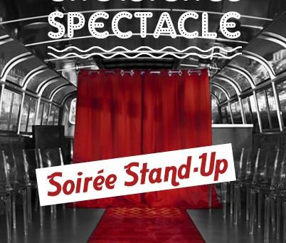 Croisières Spectacle – Soirée Stand Up