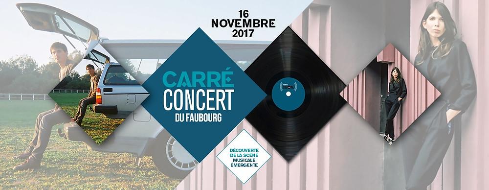 CARRE CONCERT DU FAUBOURG
