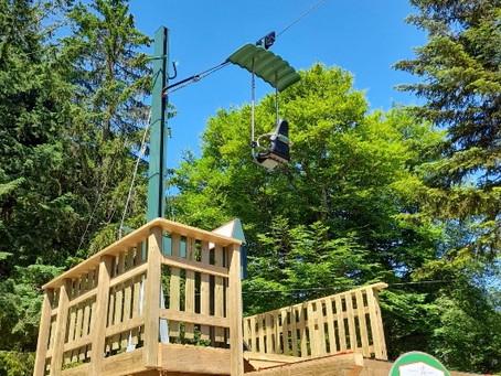 La Loge des Gardes ouvrira son parc de loisirs le samedi 3 Juillet