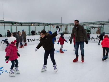 La plus haute patinoire synthétique de Paris revient à la Tour Montparnasse