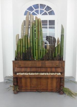 orgue de bambou