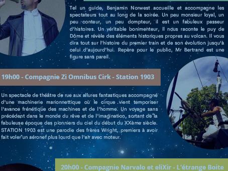 Les Nocturnes du puy de Dôme 29 JUILLET, 5 ET 12 AOÛT2021