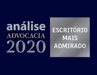 GT Lawyers é um dos escritórios mais admirados pela Revista Análise Advocacia 2020