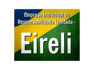 EIRELI: pessoa jurídica nacional ou estrangeira como titular