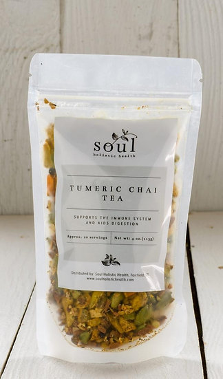 Soul Holistic Health Turmeric Chai Tea
