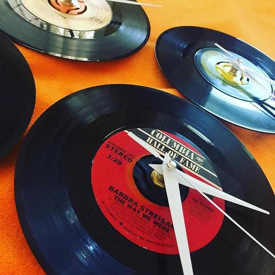 33's Record Album Clock