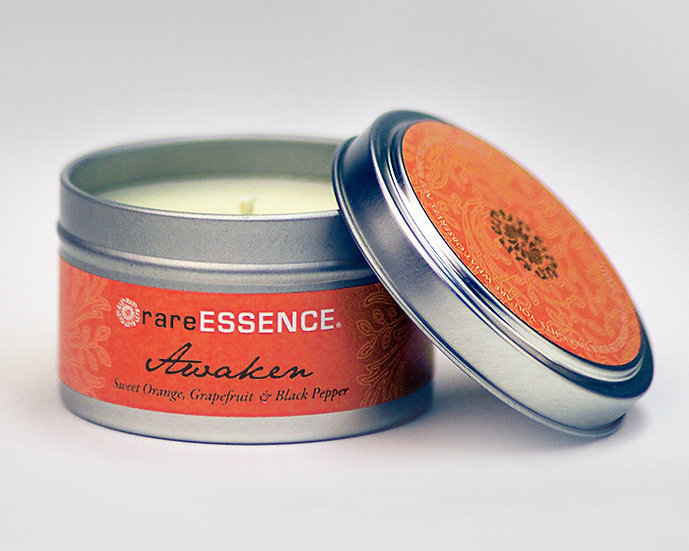 rareESSENCE Travel Candle Tins