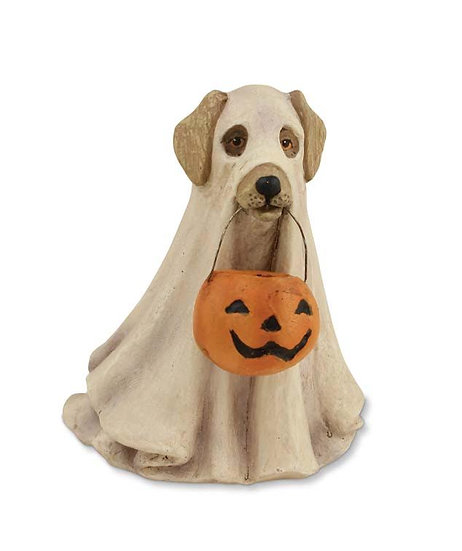 Spooky Ghost Dog by Bethany Lowe Designs
