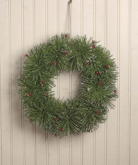 Retro Twisted Christmas Wreath