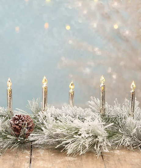 Candle Clip Garland