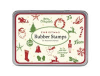 Cavallini Christmas Rubber Stamp Kit