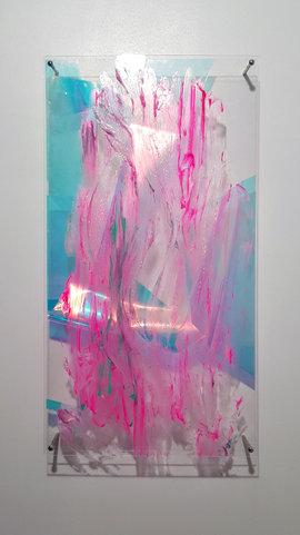 웹업로드liquid crystal1│acrylic panel, mixed