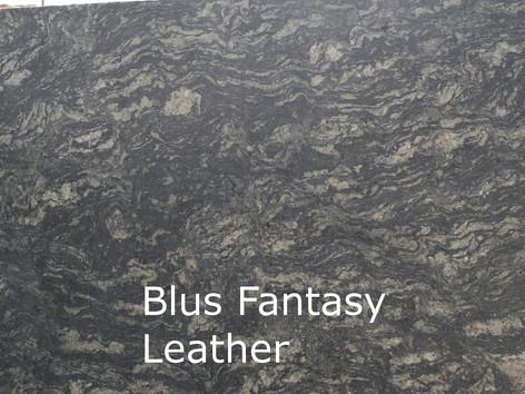 Blue Fantasy Leather
