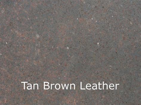 Tan Brown Leather