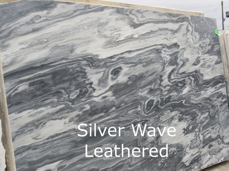 Silver Wave Leather
