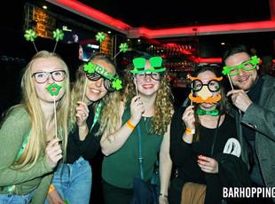 Barhopping London St. Patrick's Pub Craw
