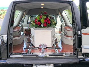 WOULD YOU OVERTAKE A HEARSE?