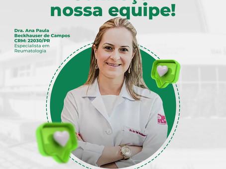Conheça um pouco sobre o Dra. Ana Paula Beckhauser