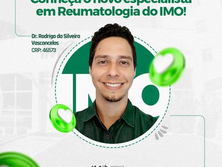Conheça o novo especialista em Reumatologia do IMO