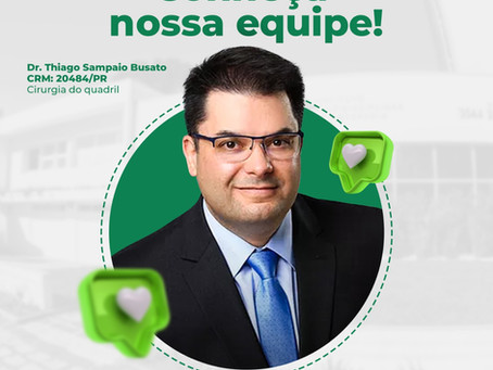 Conheça o Dr. Thiago Sampaio Busato