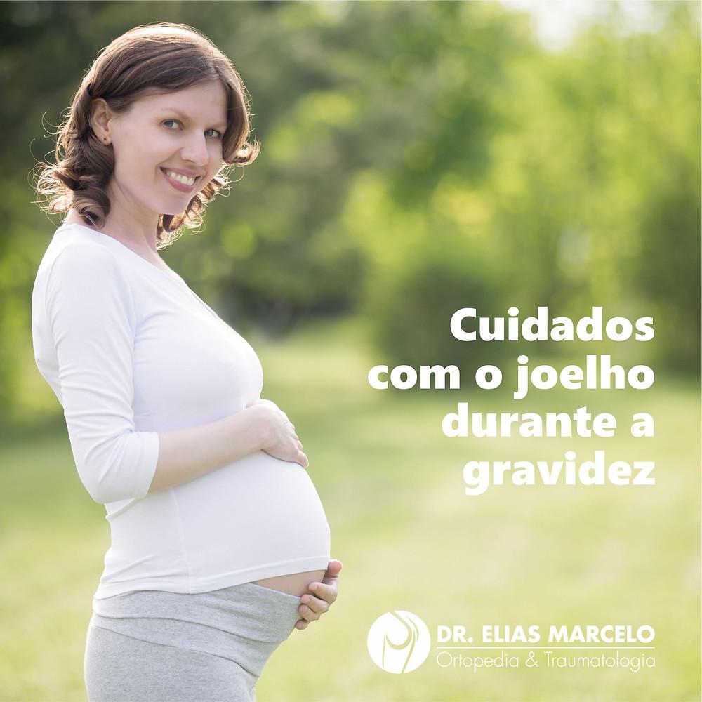 Cuidados com o joelho durante a gravidez