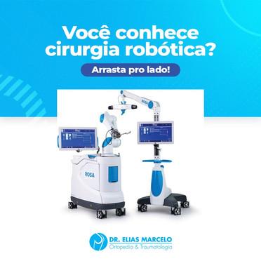 Você conhece a cirurgia robótica?