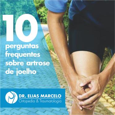 10 perguntas frequentes sobre artrose de joelho