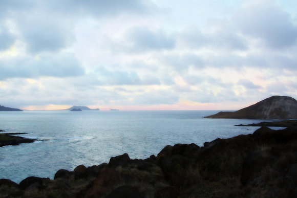 Oahu at Twilight