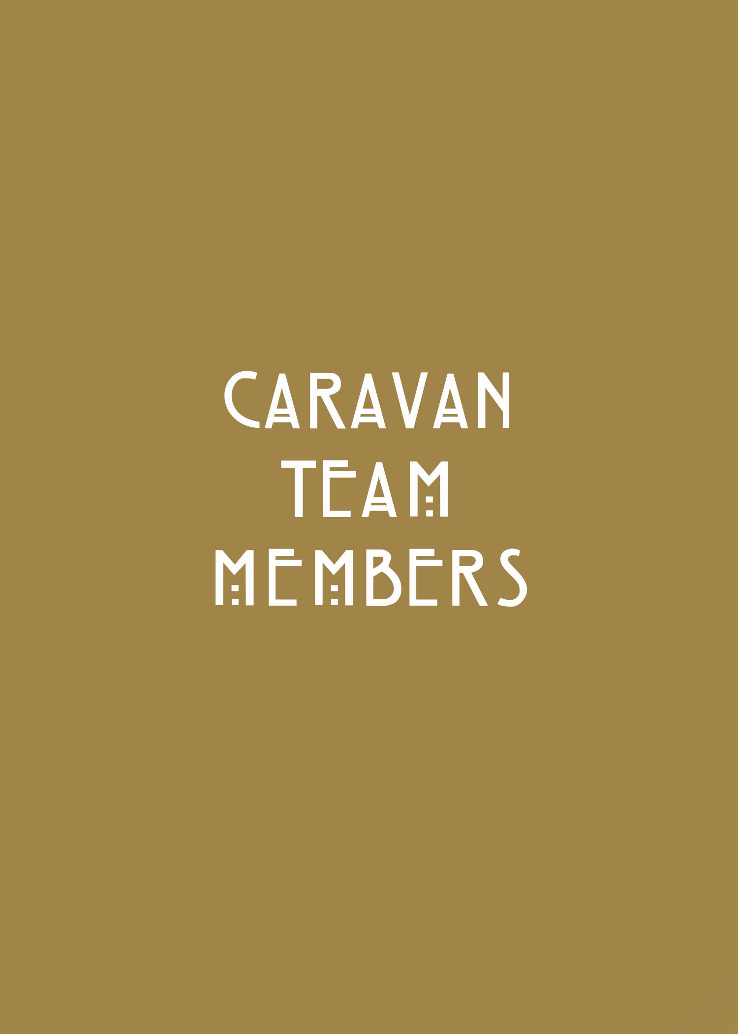 Caravan Team Members