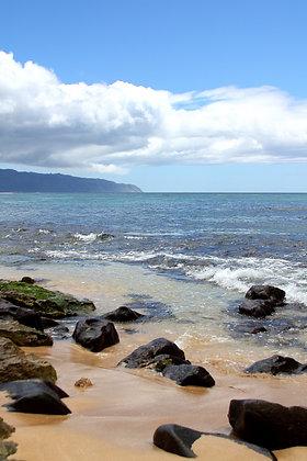 Rocky Beach on the Island