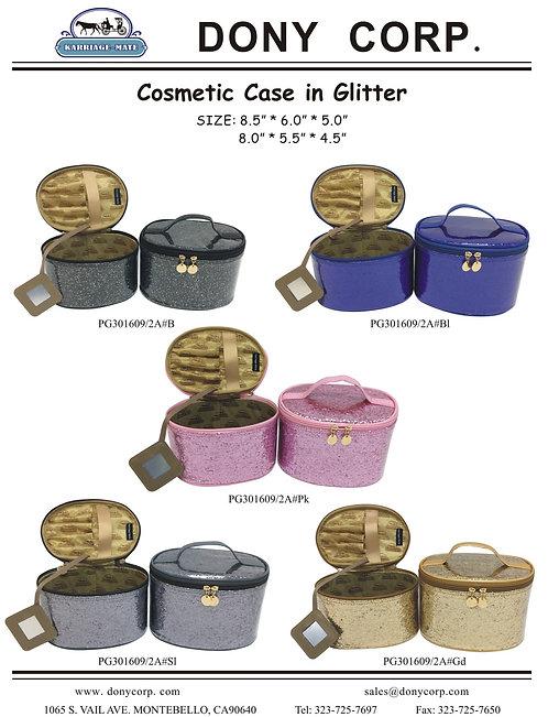 Cosmetic Case in Glitter