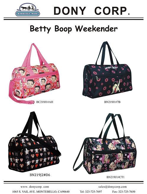 Betty Boop Weekender
