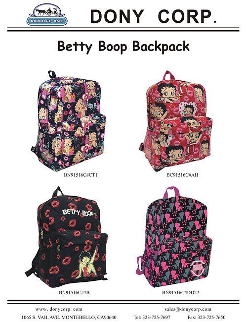 Betty Boop Backpacks