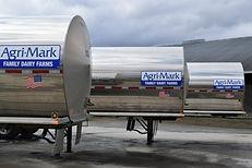 Milk tank trailers