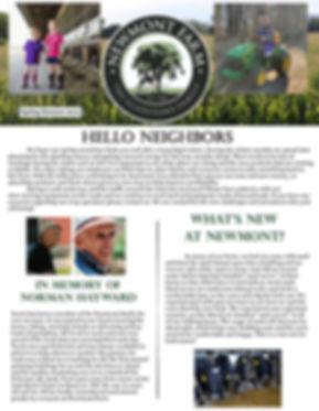 Newmont Spring Summer 2019 Newsletter fr