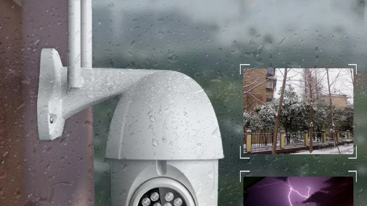 Pan til and Zoom wirless cctv camera