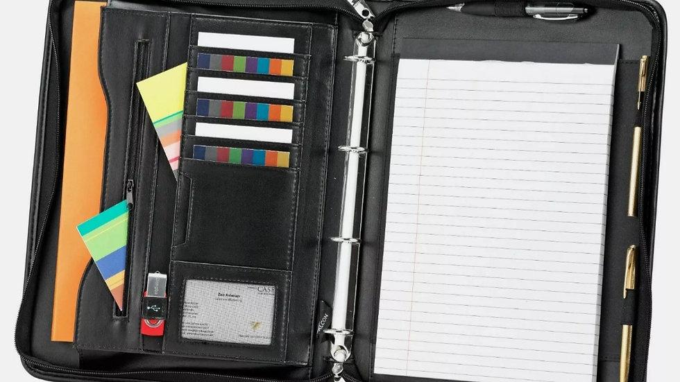 Conference Folder With Handels
