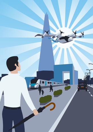 Flight Crowd 'UAM - Explore'. Vertical Aerospace in London